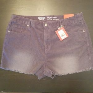 NWT Mossimo High Waist Short size 16